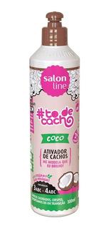 Activador Rulos Coco To De Cacho Salon Line 300 Ml Vegano