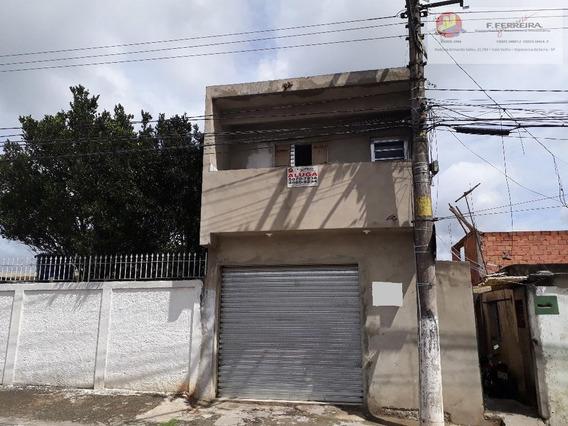 Salão Comercial Para Locação, Jardim Cinira, Itapecerica Da Serra. - Sl0020