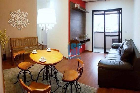 Apartamento Com 2 Dormitórios À Venda, 55 M² Por R$ 450.000 - Bosque Da Saúde - São Paulo/sp - Ap24465. - Ap24465