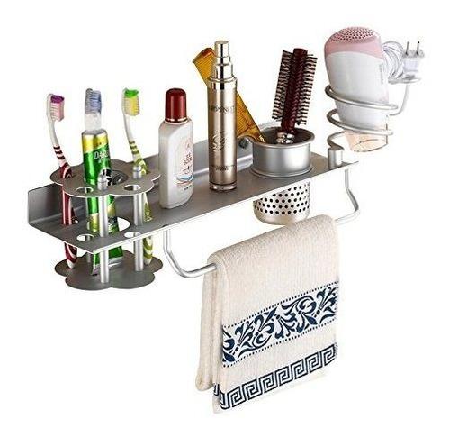 Soporte Organizador Baigio Woman De Aluminio Para Baños