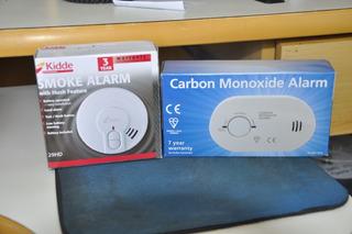 Sensor De Fumaça E Co (monoxido De Carbono)