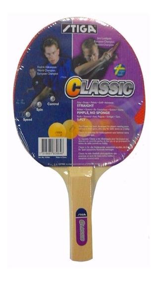 Raqueta De Ping Pong Stiga Classic ¡envio Gratis!