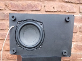 Subwoofer Philips Mcd183 8 Ohm 50w Reales Pasivo