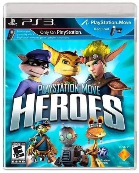 Playstation Move Heroes Playstation 3 Ps3 Mídia Física