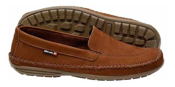 Sapato Masculino Mocassim Dockside Couro Galway 765n
