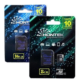 Cartão De Memória 8gb Hontek - Original Micro Sd
