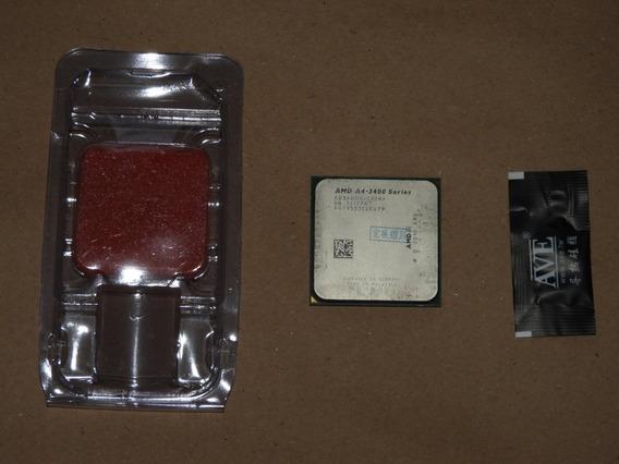 Amd Fm1 - A4 3400 - 2,70ghz - Dual Core - Radeon Hd 6410d