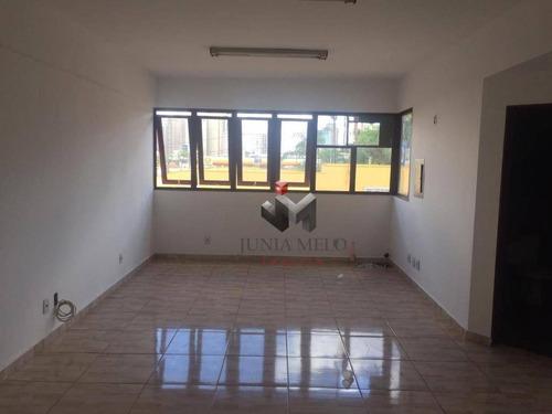 Imagem 1 de 3 de Sala Para Alugar, 40 M² Por R$ 900/mês - Alto Da Boa Vista - Ribeirão Preto/sp - Sa0197