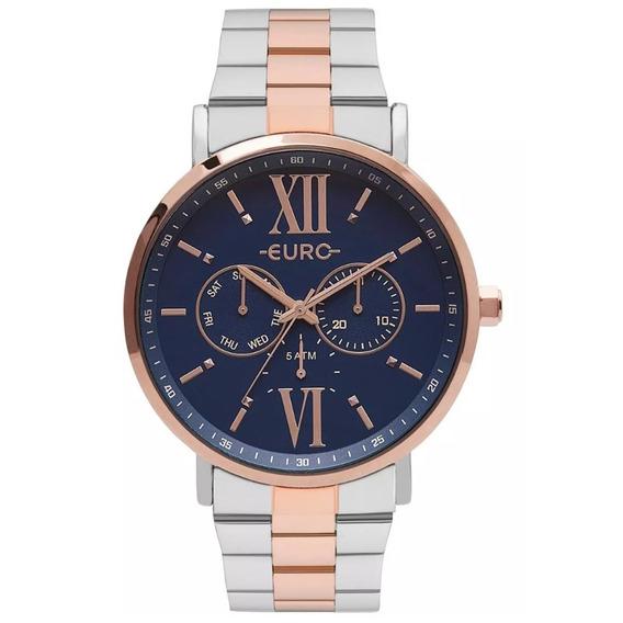 Relógio Euro Feminino Analógico Eu6p29ahb/5a - Rosê/azul