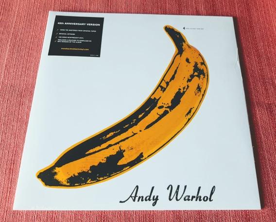 Lp Velvet Underground & Nico 180g Gatefold Bowie Stooges Bob