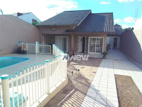 Imagem 1 de 25 de Casa Com 3 Dormitórios À Venda, 149 M² Por R$ 415.000,00 - Rincão - Novo Hamburgo/rs - Ca3314