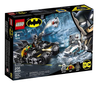 Lego Dc Batman Y Robin Mr Freeze Batcycle Battle 76118