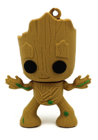 Pendrive 32 Gb Marvel Groot Vingadores Ultimato Guardiões G