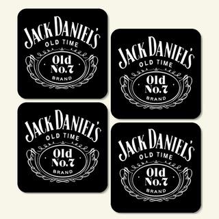6 Porta Copos Jack Daniels - Decoração / Bolacha