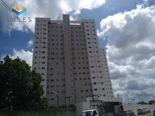 Apartamento Com 2 Dormitórios À Venda, 45 M² Por R$ 155.000,00 - Serraria - Maceió/al - Ap0626
