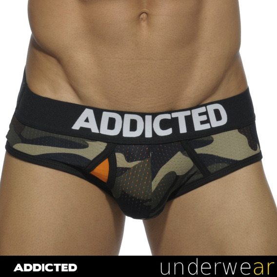 Slip Addicted Contrasted Mesh Ad496 Camuflage