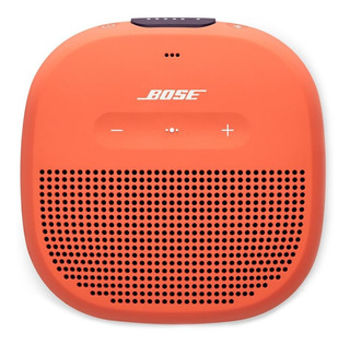 Bocina Bose SoundLink Micro portátil inalámbrico Bright orange