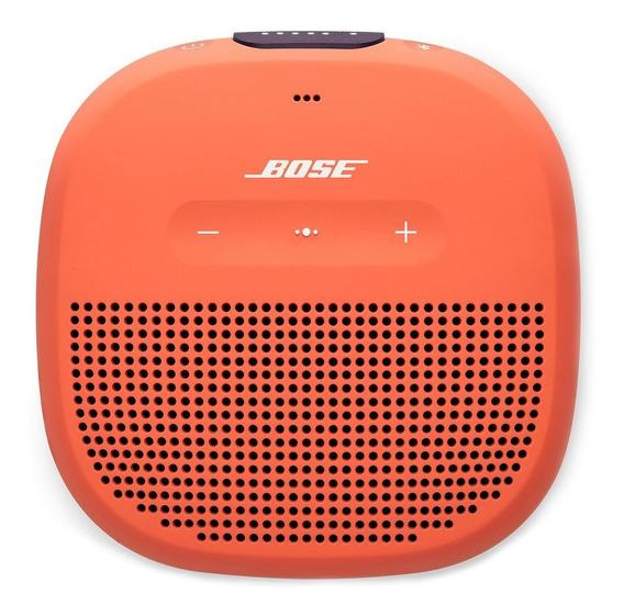 Bocina Bose SoundLink Micro portátil inalámbrico Bright orange