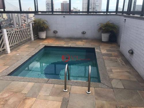 Cobertura À Venda, 210 M² Por R$ 1.150.000,00 - Vila Regente Feijó - São Paulo/sp - Co0006