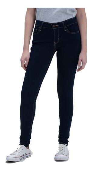 Pantalón Jean Levis Dama 710 Super Skinny Legging Azul