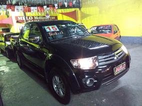 Mitsubishi L200 Triton Hpe 4x4 Ano 2015 Automatico Linda