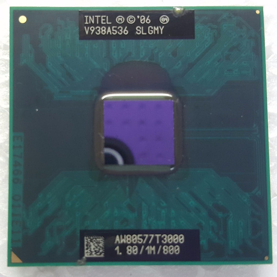 Processador Intel Mobile Celeron Dual Core T3000 1.8/ 1m/800