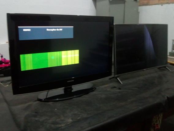 2 Tvs- 2 Samsung, Com Defeito, Leia A Descrição.