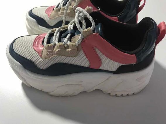 Zapatillas Con Plataforma Urbanas Importadas