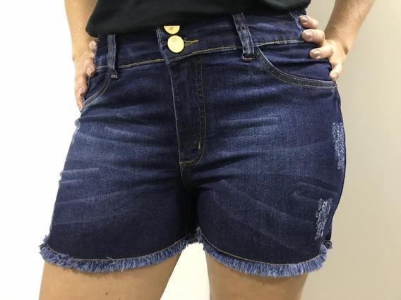 Kit 3 Shorts Feminino Jeans Plus Size 44 Ao 56