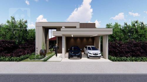 Casa À Venda, 137 M² Por R$ 550.000,00 - Residencial Vila Madalena - Araçatuba/sp - Ca1085