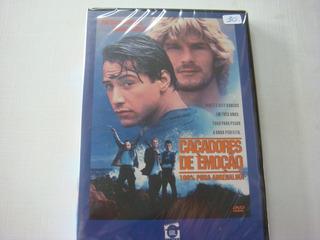 Dvd Filmes = Caçadores De Emoções