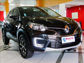 Renault Captur 1.6 16v Sce Intense X Tronic Preta