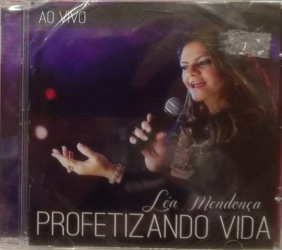Cd + Playback Léa Mendonça - Profetizando Vida