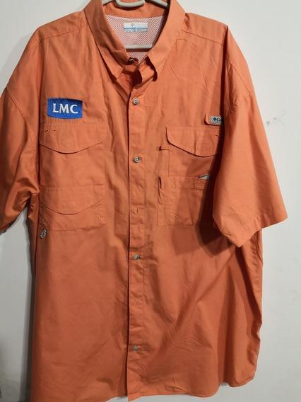 Camisa Columbia De Secado Rapido Mangas Cortas