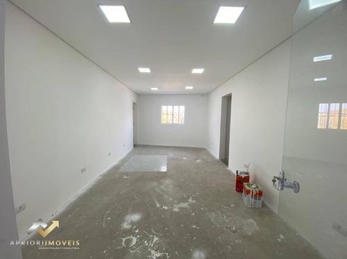 Sala Para Alugar, 36 M² Por R$ 900/mês - Centro - Santo André/sp - Sa0145