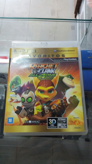 Ratchet Clank All4one Ps3