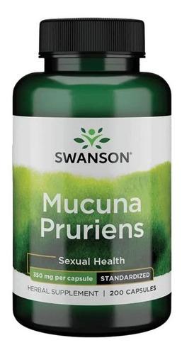 Mucuna Pruriens 350 Mg 200 Capsulas - L a $3