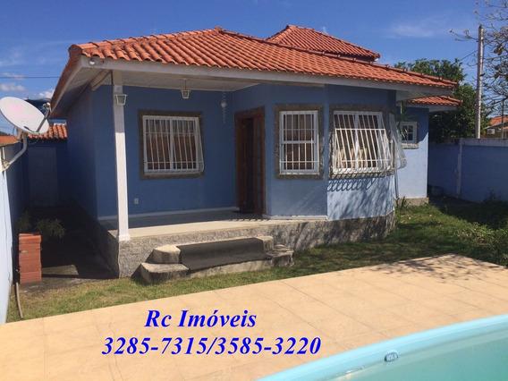 Casa Em Marambaia Com 3 Quartos, Piscina E Vaga De Garagem.