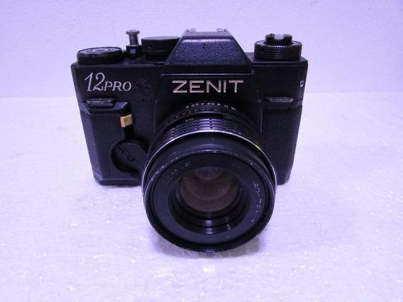 Maquina Fotografica Analogica Zenit 12pro Fabricada Manaus