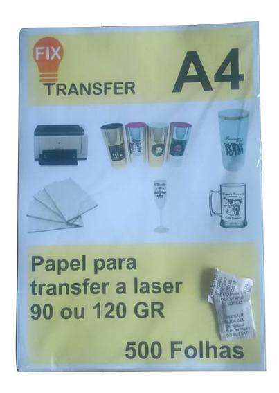 Papel Tranfer Laser 500 Folhas A4