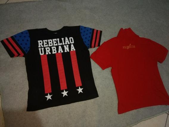 Camiseta Polo Play & Rebelião Urbana