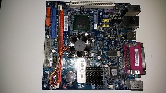 Placa Mãe E Processador Intel Dual Core 512gb M.interna
