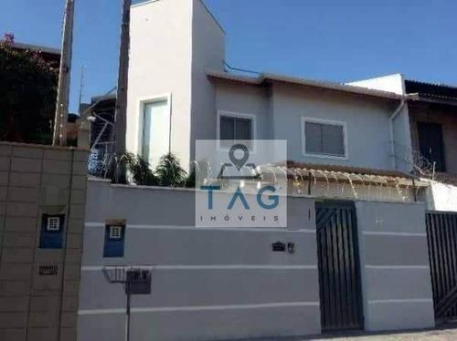 Sobrado Com 3 Dormitórios (1 Suíte), 3 Vagas Cobertas Garagem, Venda, Residencial Terras Do Barão - Campinas/sp. - So0028