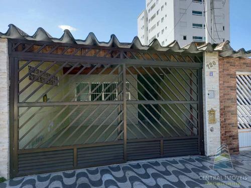 Imagem 1 de 23 de Casa Com 3 Dorms, Guilhermina, Praia Grande - R$ 390 Mil, Cod: 9671 - V9671