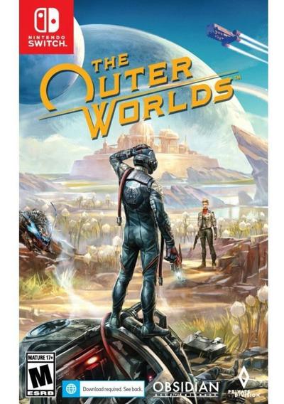 The Outer Worlds Switch Mídia Física Novo Lacrado Original