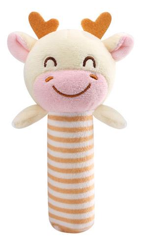 Bebê Toy Cartoon Stuffed Mão Chocalho Brinquedo Infantil Cur