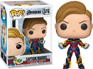 Funko Pop - Spiderman - Capitan America - Capitana - Endgame