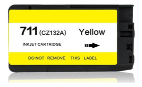 Cartucho Hp 711 Yellow Compativel Id1267
