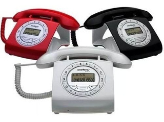 Telefonos Intelbras Tc8312 Retro Id Manos Libres Colores.