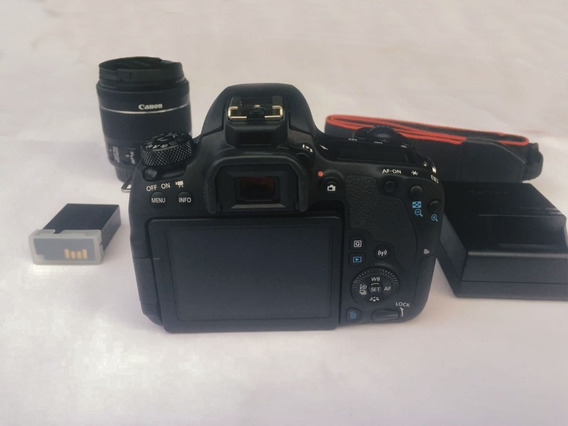 Canon Eos 77d Dslr + Lente 18-55mm + Acima T7i/t5i